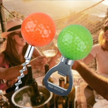 Golf Ball Bottle Opener Multi Color Supplies Novelty Gifts For Wine And Beer