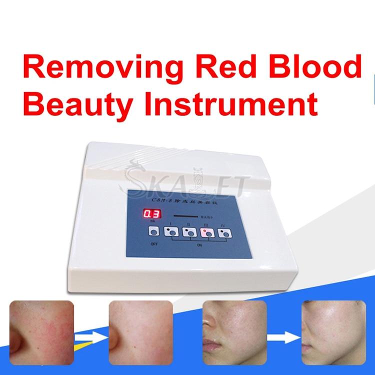عالية التردد إبرة RF العنكبوت الأوردة إزالة مكافحة احمرار آلة بقع الأوعية الدموية الحمراء الأوعية الدموية معدات تجميل لإزالة الشعر