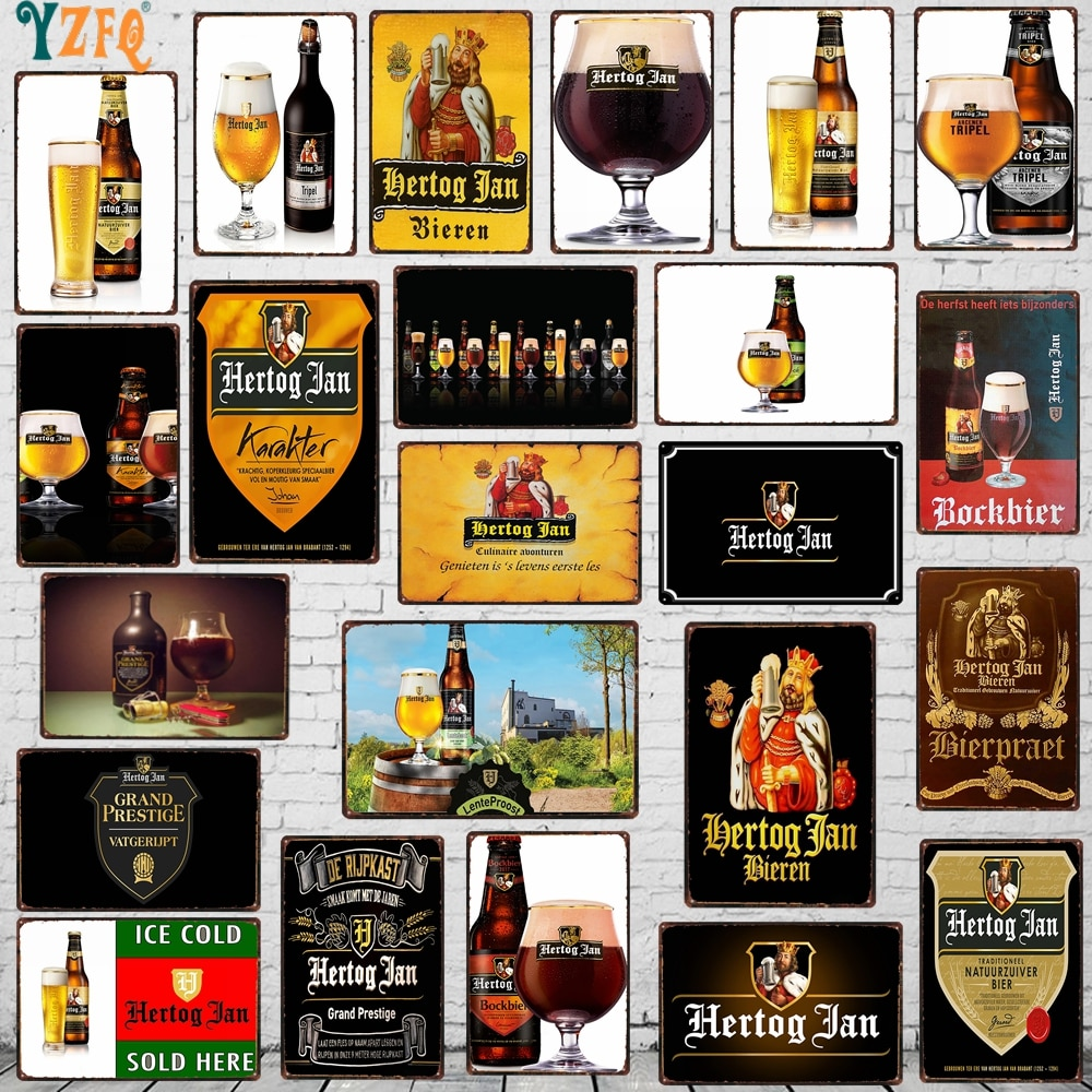 Letrero de Metal de cerveza, cartel de bebidas Shabby Chic, pared para casa, restaurante, música, Bar, arte, decoración para cuarto de hombre, 30X20CM, DU-8031A