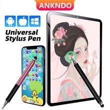 Penna stilo universale 2 in 1 per Apple iPad iPhone disegno schermo capacitivo matita Caneta Touch Pen per accessori per telefoni cellulari
