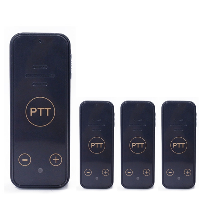 4PCS LEIXEN VV-118 Mini Walkie Talkie 0.5W UHF 16CH For Hair Salon Restaurant Radios Transceiver Radio Upgrade VV-108