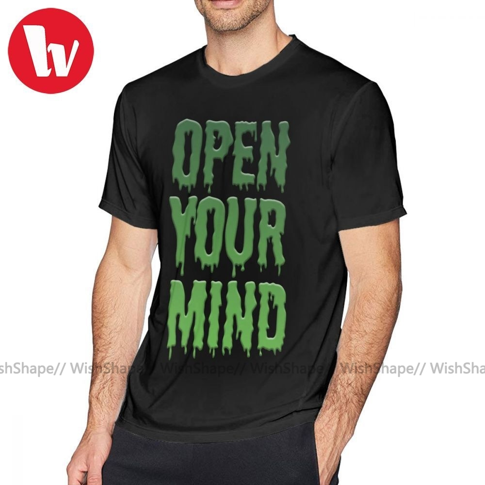 Flatbush Zombies T camisa abre tu mente camiseta 100 algodón 6xl Tee Camiseta de manga corta divertido básica camiseta de hombre