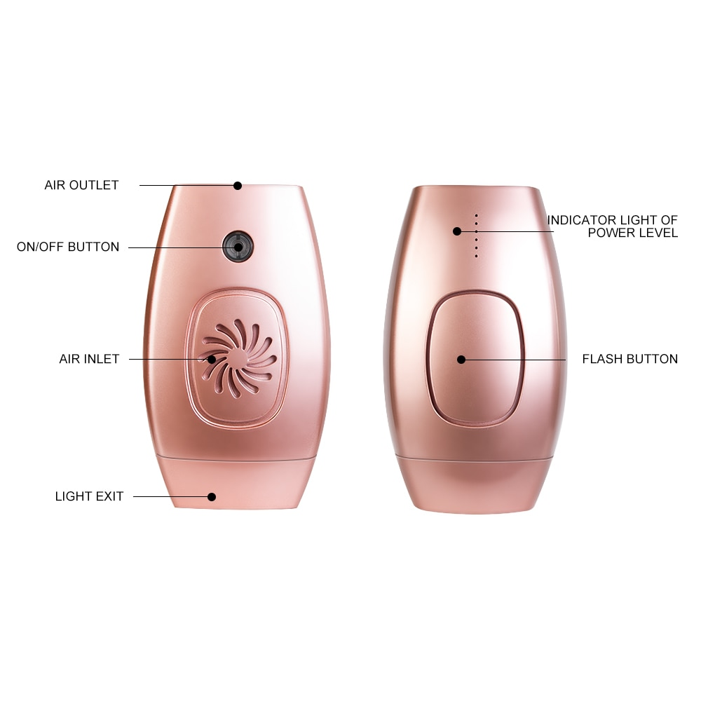 1800000 Flash Permanent IPL Epilator Hair Removal depiladora facial Laser photoepilator Painless Hair Remover Multilingual manua enlarge