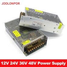 Beleuchtung netzteil Transformator AC zu DC 12V 24V 36V 48V 240W 250W Power versorgung Adapter 5A 7A 10A 20A LED Streifen Fahrer
