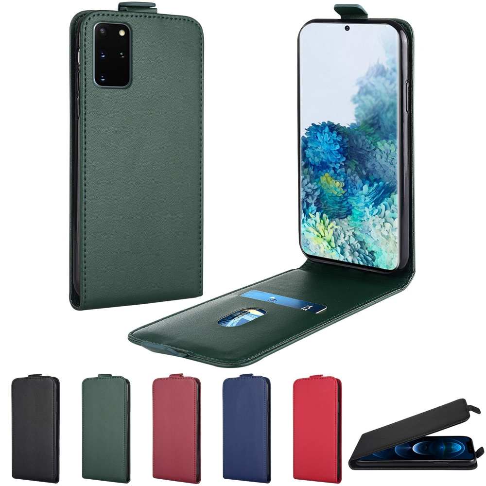 Leather Flip Case for Samsung S20 FE Ultra S10 Lite S8 S9 Plus S10e S3 S4 S5 neo S7 edge F02s F12 F2