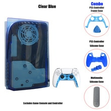 PS5 Panel Case Faceplate Covers Disc Edition Replacement Case Cover Case Skin for PS5 Plates Digital