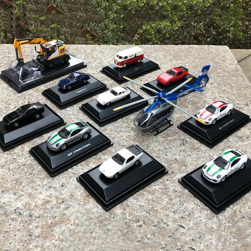Diecast auto modell spielzeug von 1/87 Skala Mini 911 924 944 Modell Auto Spielzeug sammlung set Zeigen