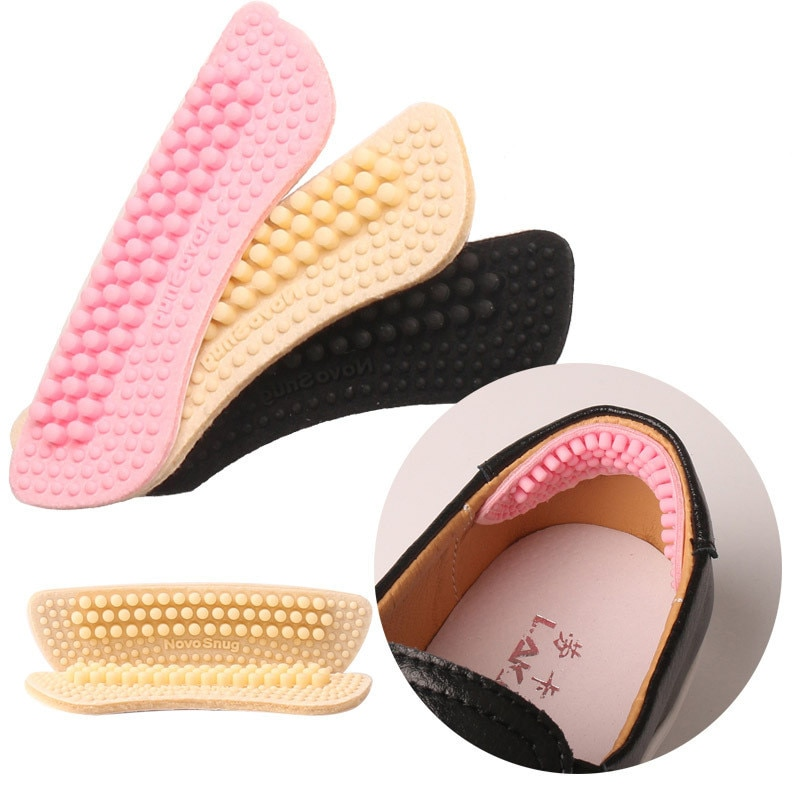 Plantillas suaves de silicona para zapatos, pegatinas para tacones, resistentes al desgaste,...