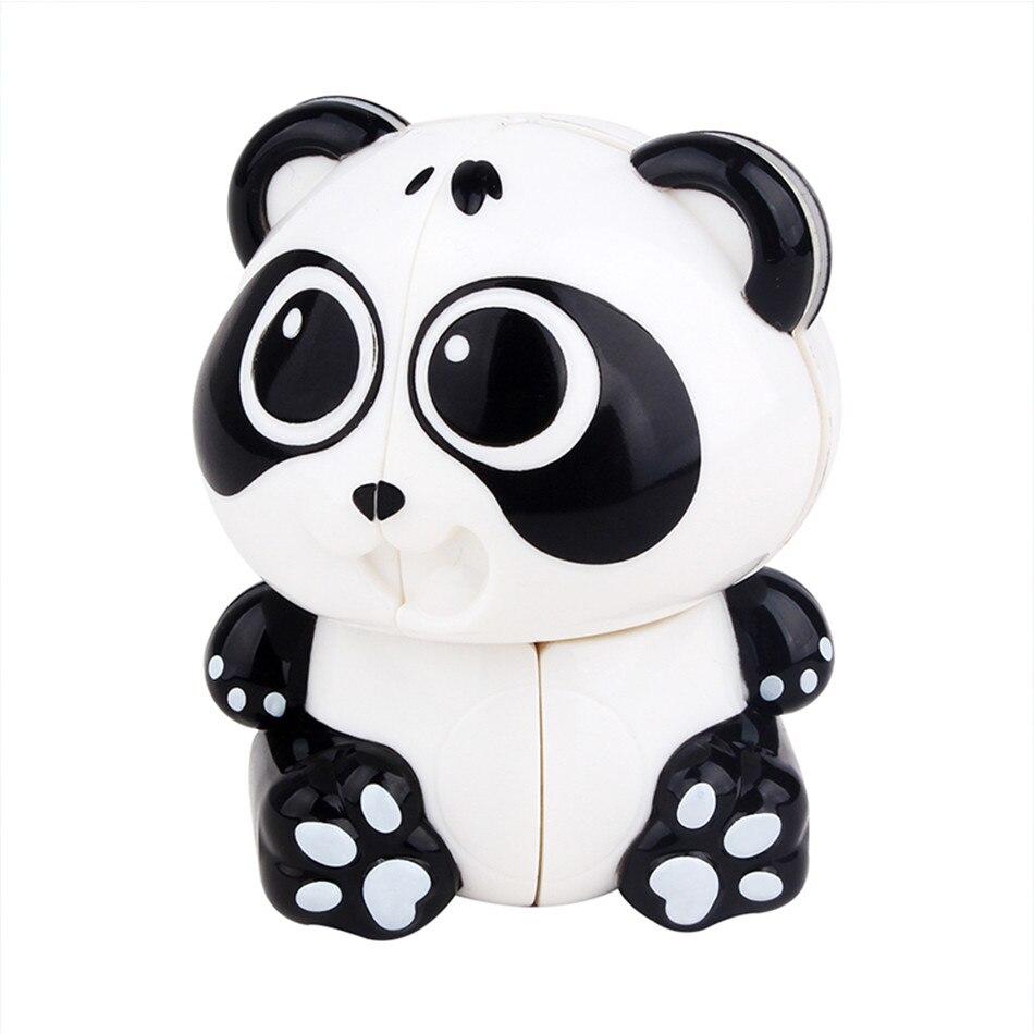 Yuxin Panda 2x2 llavero cubo mágico juguete educativo para edades tempranas nuevos juguetes para niños cubo