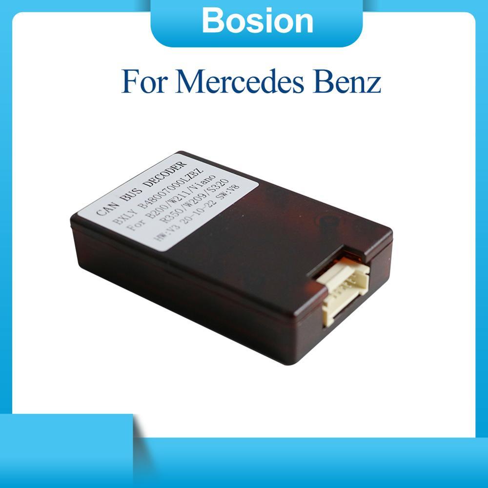 Rádio do carro estéreo para mercedes benz carros canbus caixa android 2 din /1 din