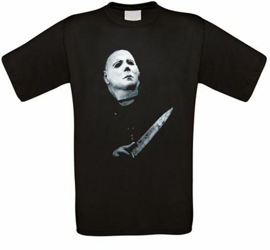 Michael Myers de Horror de Halloween Culto película Camiseta de Todos los...