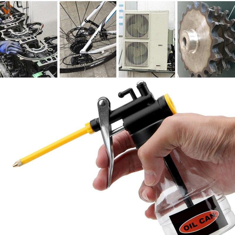 300ml Hochdruck Auto Manuelle Öler Auto Öl Pumpe Tank Sprayer Öl Pumpe Auto Sauber Öler Flexible Pistole Auto wartung Zubehör
