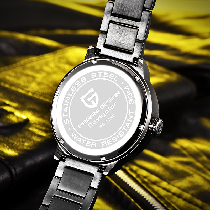 PAGANI DESIGN  Luxury fashion brand Stainless Steel Waterproof Relogio The Mens' Watches Ver Gente Sports 2025 Movement enlarge