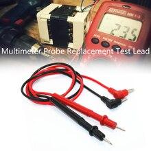 Broche de Test de sonde universelle pour multimètre numérique, pointe daiguille, testeur multimètre, câble de stylo