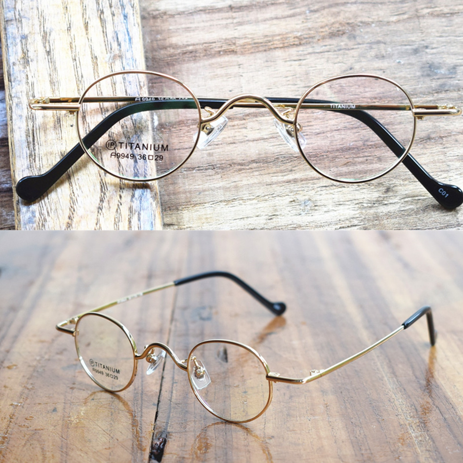 إطارات النظارات البيضاوية فائقة الحواف للرجال والنساء ، إطارات النظارات البيضاوية فائقة الحجم ، وصفة طبية بصرية ، خفيفة الوزن