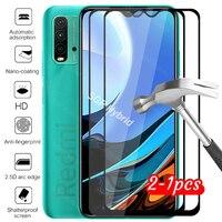 Защитное стекло для xiaomi redmi 9 t, чехол для xiaomi redmi 9 t, xiomi redme redmy 9 t, чехол из закаленного стекла для телефона, 2 шт.