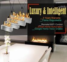 Inno living-cheminée intelligent   Éthanol intelligent, 30 pouces, à distance, bio, cheminées