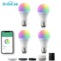 BroadLink     ampoule LED RGB intelligente LB27R1 220V  Wi-Fi  fonctionne avec Alexa et Google Home  nouveau