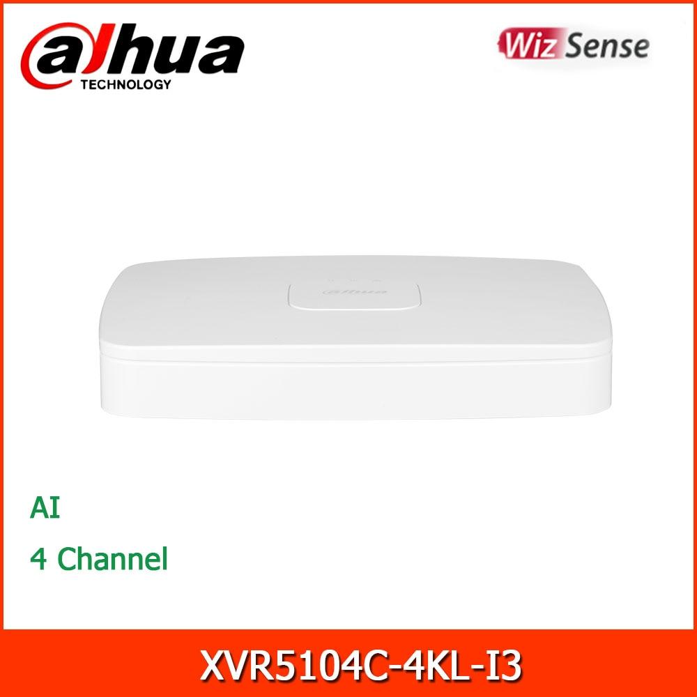 داهوا xvr XVR5104C-4KL-I3 4 قناة بنتا brid 5MP الذكية 1U 1HDD WizSense مسجل فيديو رقمي