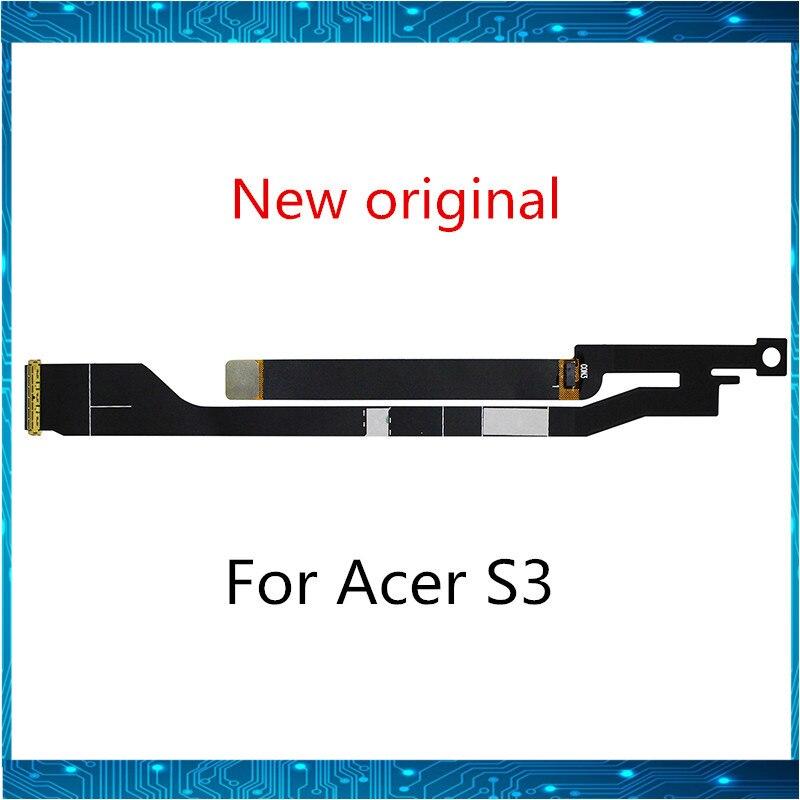 Nueva para Acer Aspire S3 S3-371 S3-391 S3-951 LED pantalla LCD Cable HB2-A004-001 SM30HS-A016-001 B133XTF01.0 BUEN TRABAJO