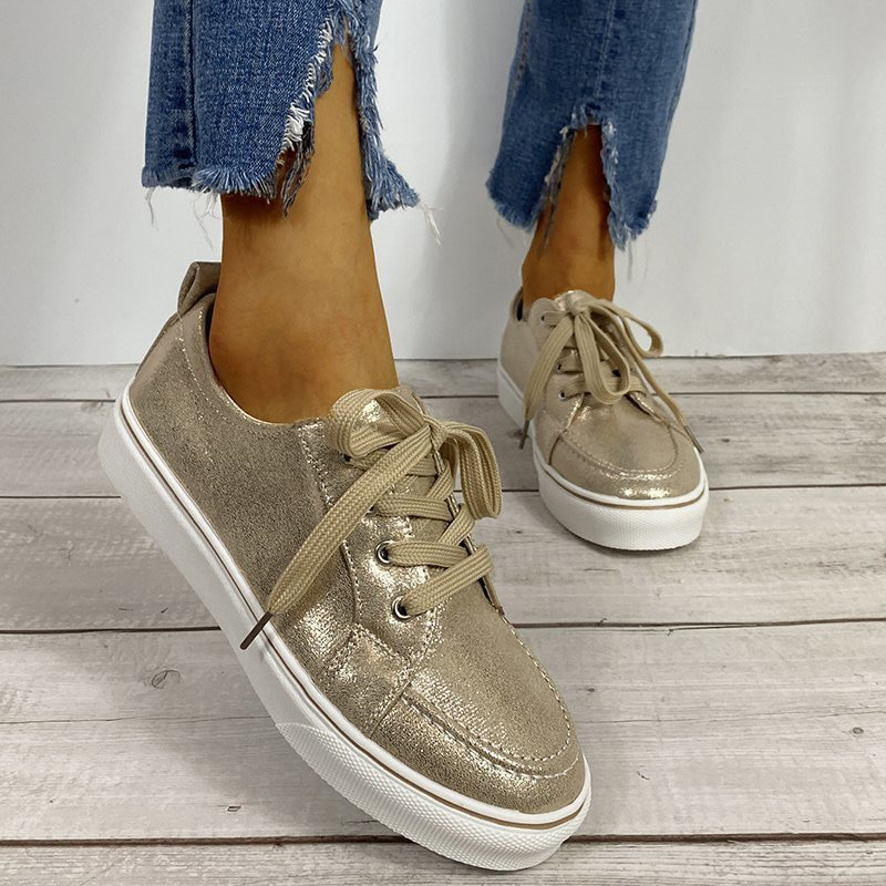 Ladies Breathable Hollow Out Flat Loafers Women Casual Round Toe Flats Shoes Comfortable Sneakers Plus Size Chaussure Femme