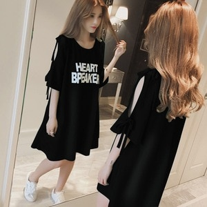 European Loose Plus Size T-shirt Clothes Long Style Sexy Hollow-Out Hole Personality Short Sleeve Trend  T-shirt For Women