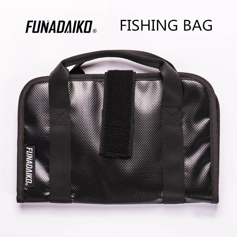 Funadaiko bolsa para isca de pesca, bolsa de metal para isca de pesca, isca tipo jigging
