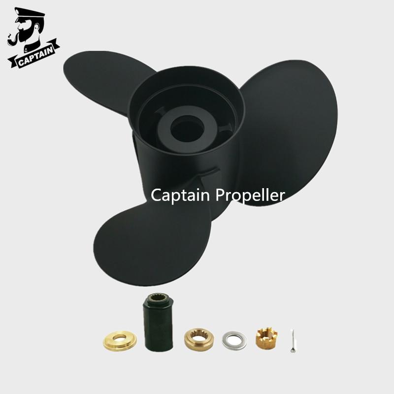 Captain Propeller 16x18 1/2 Fit Suzuki Outboard Engine DT150/150S DT200HP DT225HP DF150 DF300 15 Tooth Spline 99105-00800-185 enlarge
