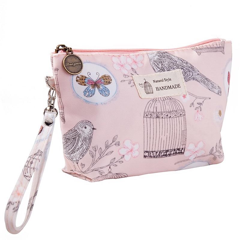 Bolsa de almacenamiento de cosméticos impermeable, bolsa de mano portátil para mujer, bolsas de aseo de viaje impermeables, venta directa de fabricantes