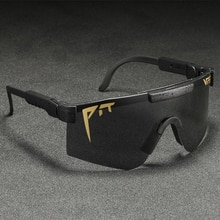 TR90 Unbreakable Frame Material Polarized Sunglasses Pit Viper Men Cool Big Goggle Durable Fashion S