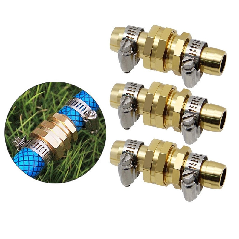 Refined Brass Outer Wire Pagoda Joint External Wire Hexagonal Garden Hose Connection Water Pipe Connector Joint 3pcs lot best selling new pagoda joint plastic pipe connector hose connector pipe fittings adapter high quality