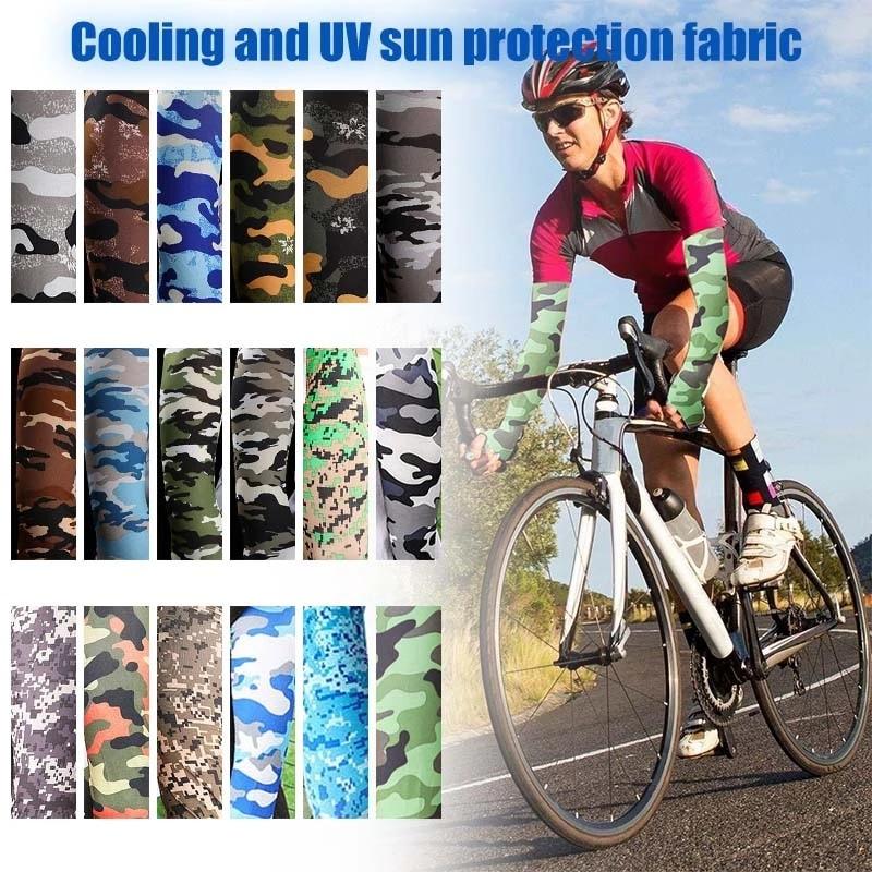 Спортивная сумка на руку компрессионный рукав Баскетбол велосипедные рукава теплые летние кроссовки для рук с защитой от ультрафиолета ру...
