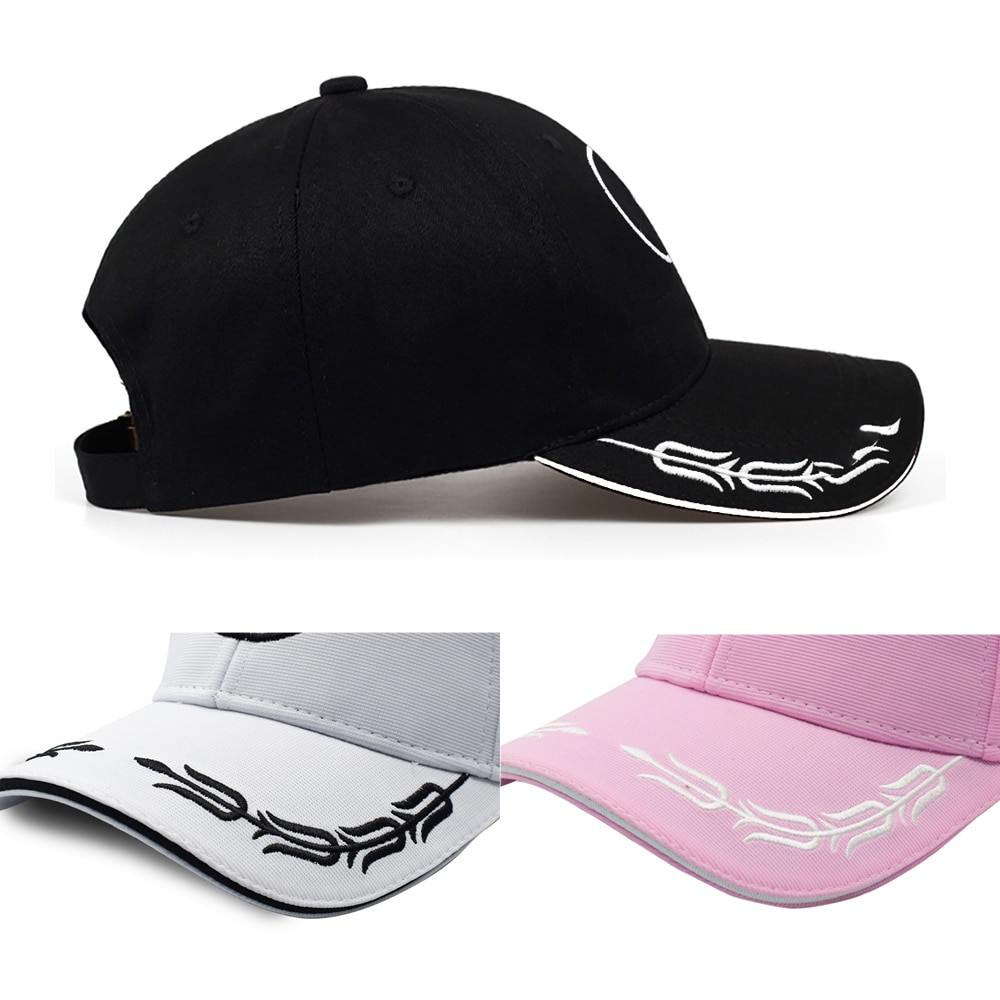 Adjustable Embroidery Car Logo Sun Hat Auto Emblem With Wreath Sunhat Baseball Cap Casquette Men Outdoor Peaked Caps Accessories