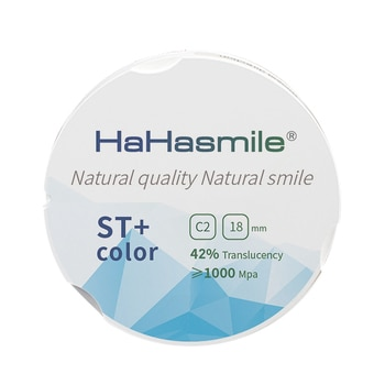 95mm Zirconium Blocks C2 Color Gradient Dental Zirconium Block For Open CAD/CAM Machine ST+Color Zirconia Blocks