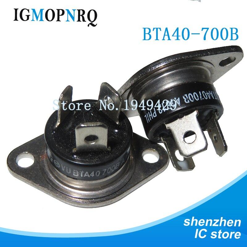2pcs/lot BTA40700B thyristor module BTA40-700B SCR 40A 700V original authentic