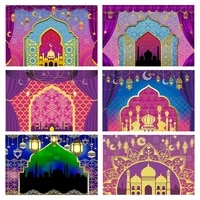 arabian moroccan nights party backdrop indian gold palace magic background princess birthday decoration girls candy table banner
