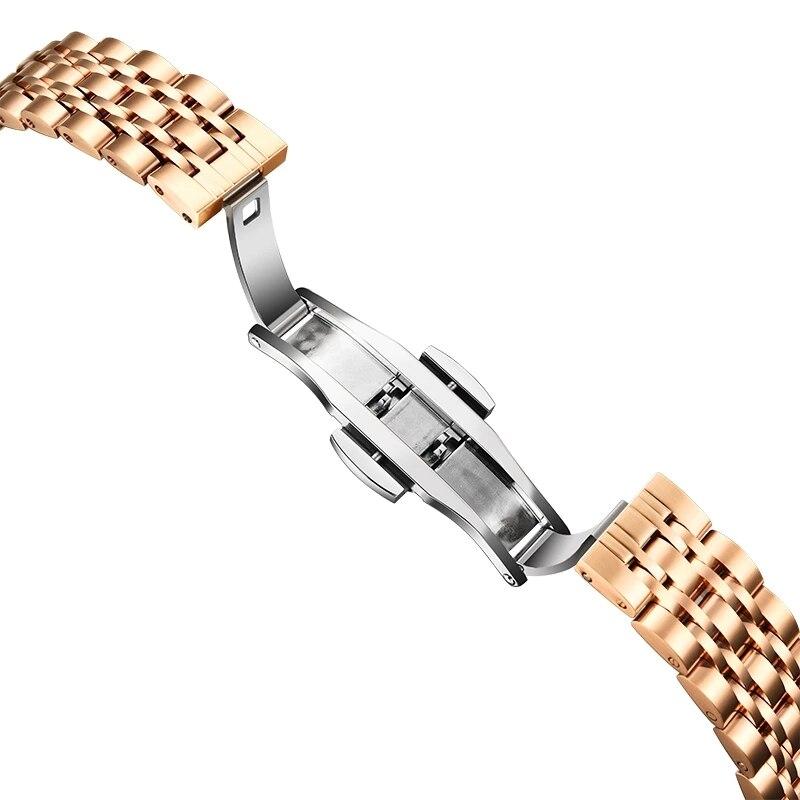 CARNIVAL Top Brand Lady Fashion Rose Gold Watch Woman Luxury Waterproof Crystal Diamond Girl Quartz Wristwatch Relogio Feminino enlarge