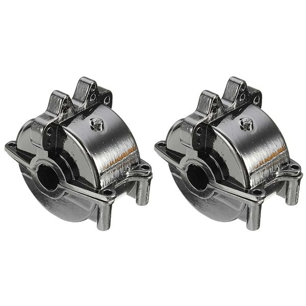 FBIL-2Pcs алюминиевая передняя и задняя коробка передач для 1/18 RC автомобиля A959 A959B A969 A969-B A979 K929