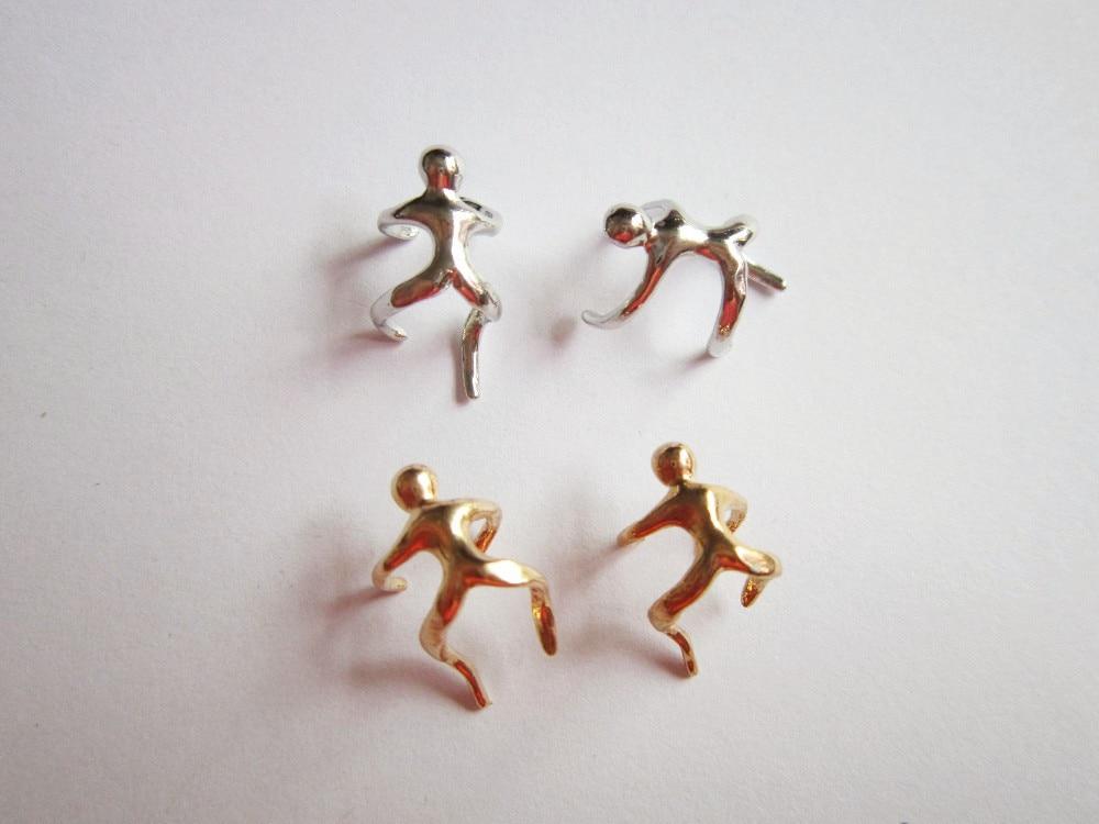 4 unids/pack oro/de metal de plata escalador hombre ajustable trenza de cabello pavor dreadlock cuentas anillos tubo esposas Accesorios