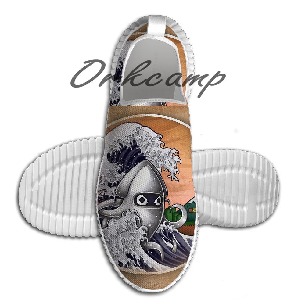 Zapatillas deportivas para correr la gran ola de peso ligero zapatos para caminar de malla transpirable zapatos de Yoga