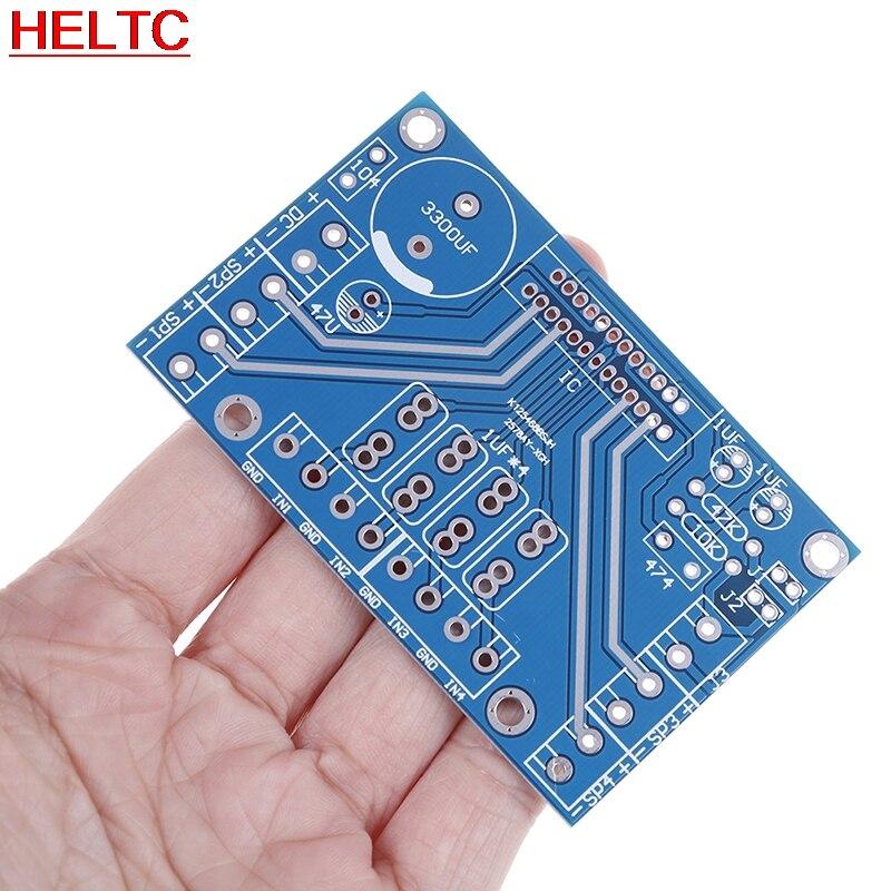 Усилители мощности TDA7388 четырехканальный 4x41 Вт аудио DC 12 В BTL PC Автомобильный AMP PCB 7850 совместимый