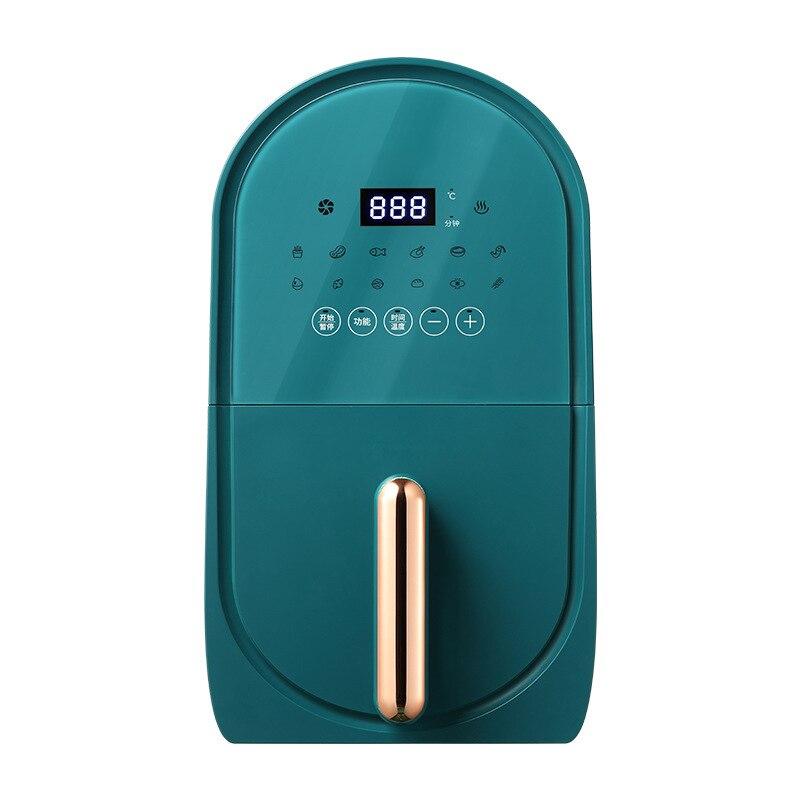 Q5 مقلاة الهواء متعددة الوظائف المنزلية سعة كبيرة 3L مقلاة كهربائية خالية من الزيت 1400 واط جهاز قلي أصابع البطاطس