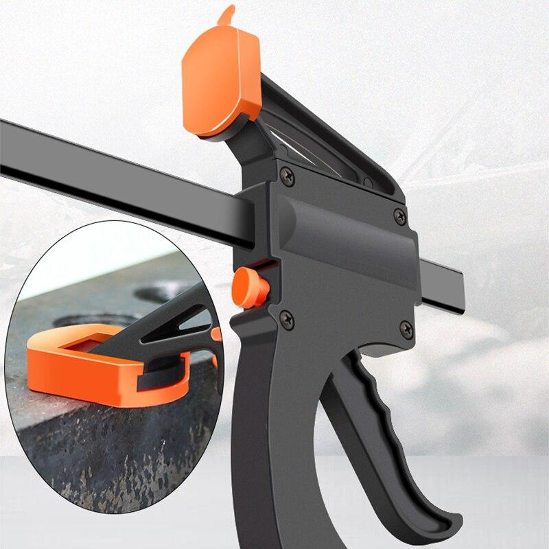 Zacisk drążka roboczego, zacisk F, narzędzie DIY ręczne - Zestawy narzędzi - Zdjęcie 4