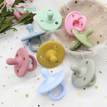 1PCS Baby Silicone Pacifier Infants Chew Toys Soft Baby Care Nipple Dummy Pacifier Nursing Accessories Baby Silicone Teether