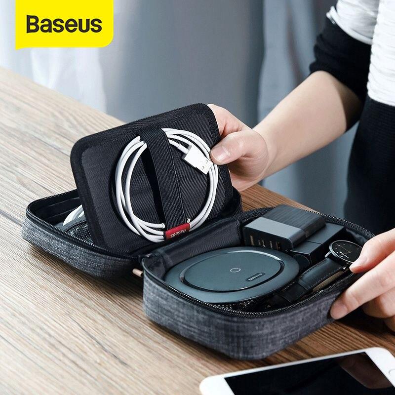 Funda Universal de teléfono Baseus de 7,2 pulgadas para iPhone XR Xs Max 7 Samsung S10 P30 Pro, bolsa de almacenamiento portátil para teléfono