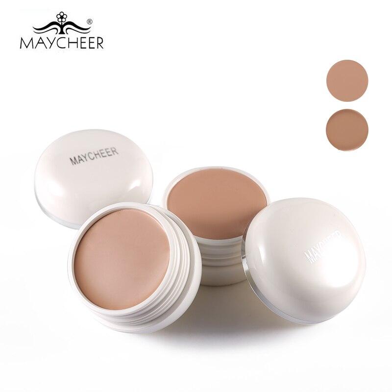 MAYCHEER-crema correctora, maquillaje para ocultar cicatrices de acné en círculo oscuro, cobertura perfecta, crema base de maquillaje facial con FPS 30