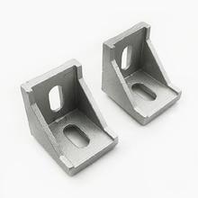 Ecke fitting winkel aluminium connector bracket verschluss 2020 3030 4040 serie industrie aluminium profil