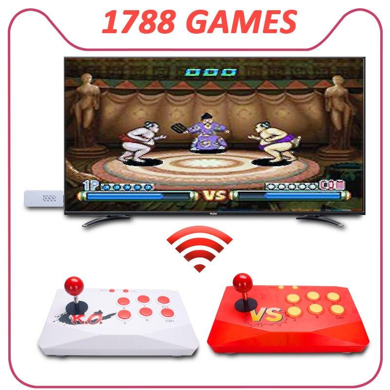 Consola De Videojuegos Retro, videoconsola con 1788 juegos, Consola De juegos Jogos,...