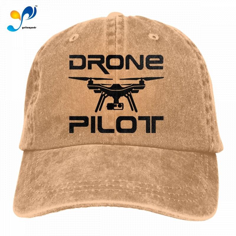 Drone Pilot Unisex Soft Casquette Cap Fashion Hat Vintage Adjustable Baseball Caps