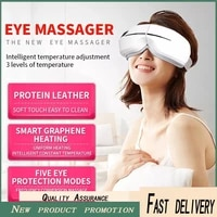 smart airbag vibration eye massager eye care instrumen heating bluetooth music relieves fatigue and dark circles